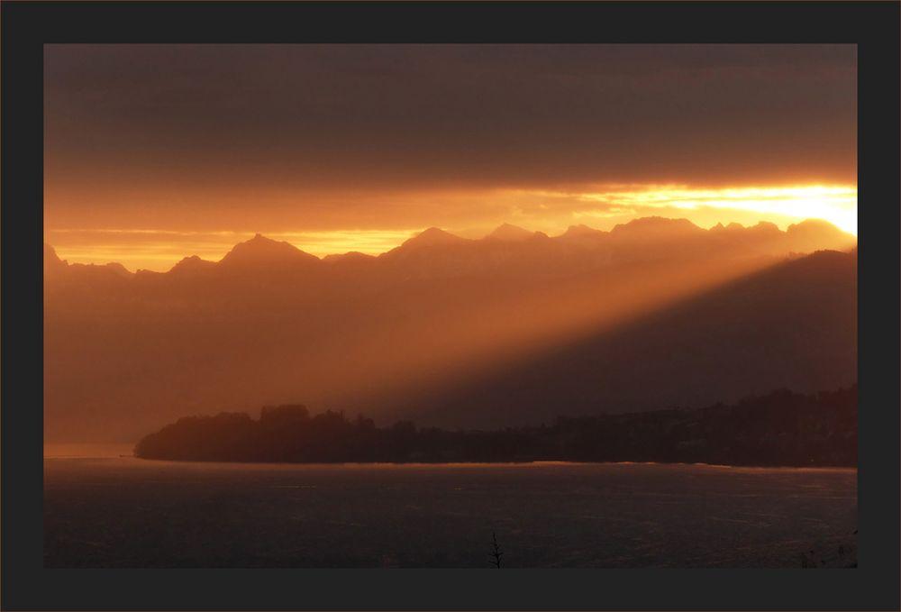 Sonnenaufgang am kürzesten Tag