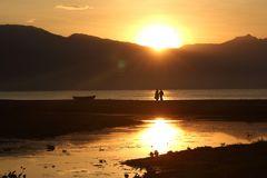 Sonnenaufgang am Lake Malawi