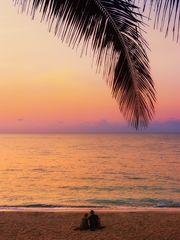 Sonnenaufgang am Lamai Beach
