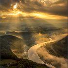 Sonnenaufgang am Lilienstein