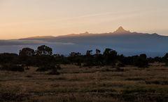 Sonnenaufgang am Mt. Kenia