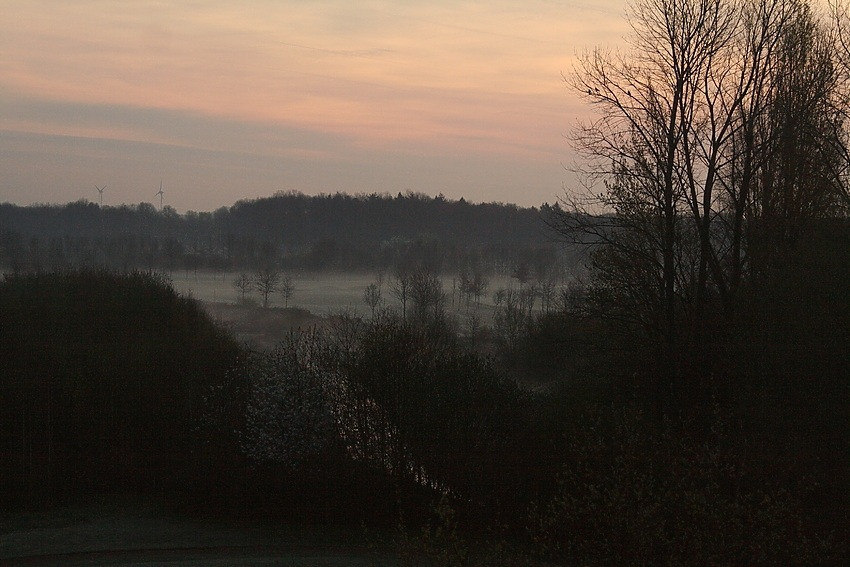 Sonnenaufgang am Niederrhein