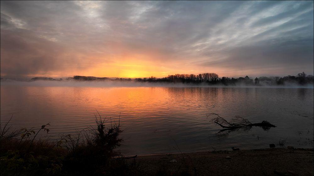 Sonnenaufgang Dezember