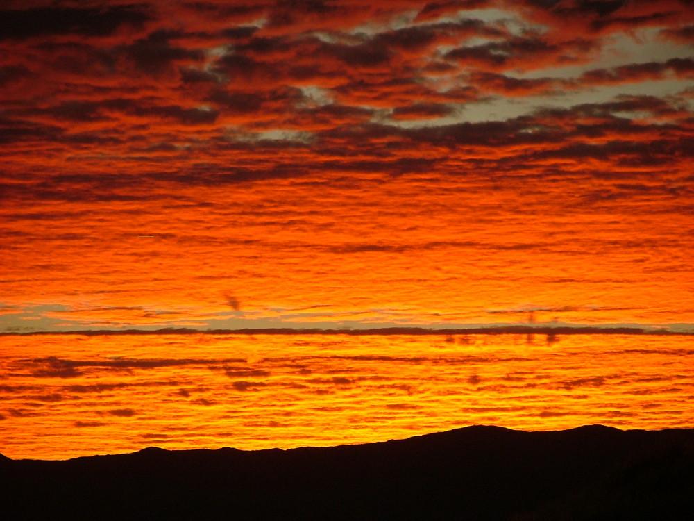 Sonnenaufgang am Spreetshoogte Pass