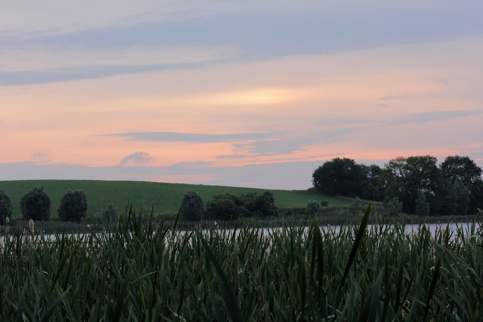 Sonnenaufgang am Stuerer See