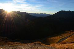 Sonnenaufgang am Timmelsjoch - Nr. 3