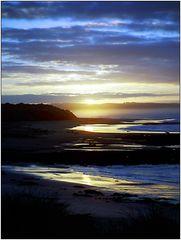 Sonnenaufgang am Waipapa Point