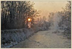 Sonnenaufgang an der Amper
