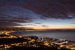 Sonnenaufgang an der Côte d'Azur