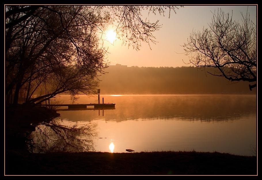 Sonnenaufgang an der Havel