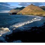 Sonnenaufgang an der islandischen Südküste