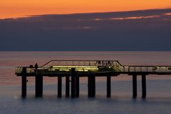 Sonnenaufgang an der Ostsee