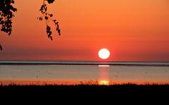 Sonnenaufgang an der Ostsee in østerhurup / Als-DK