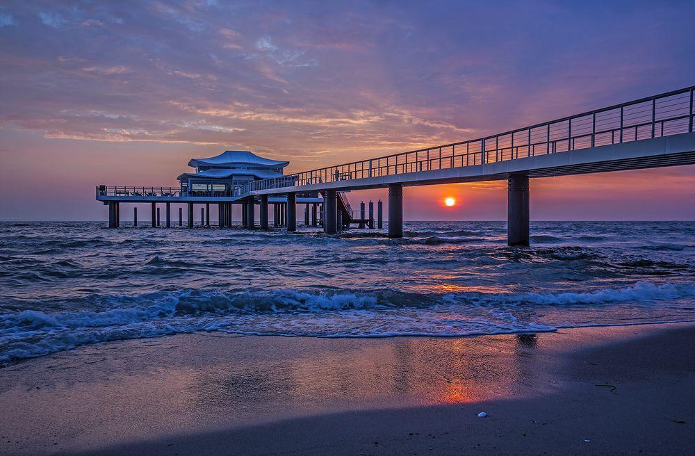 Sonnenaufgang an der Ostseeküste