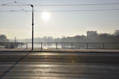 Sonnenaufgang an der Weser