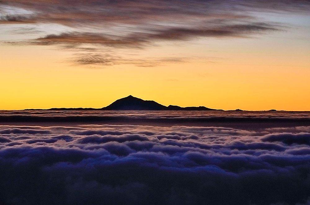 Sonnenaufgang an Teide