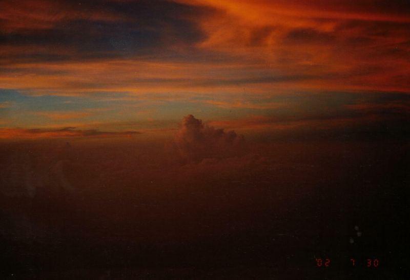 Sonnenaufgang auf dem Fujisan
