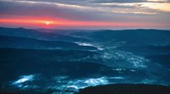 Sonnenaufgang auf dem Großen Arber