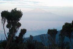 Sonnenaufgang auf dem Kilimanjaro