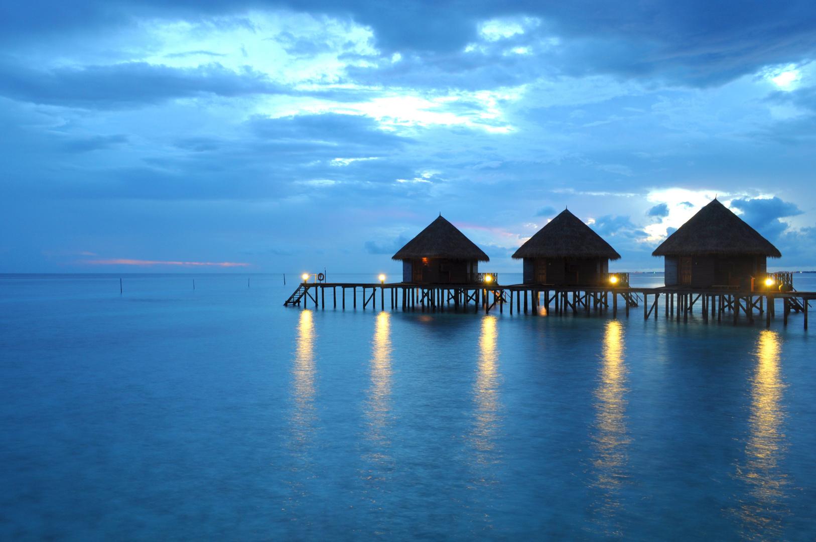 Sonnenaufgang auf den Malediven 3