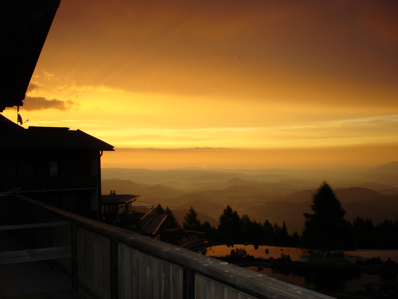 Sonnenaufgang auf der Gelitzen Alm