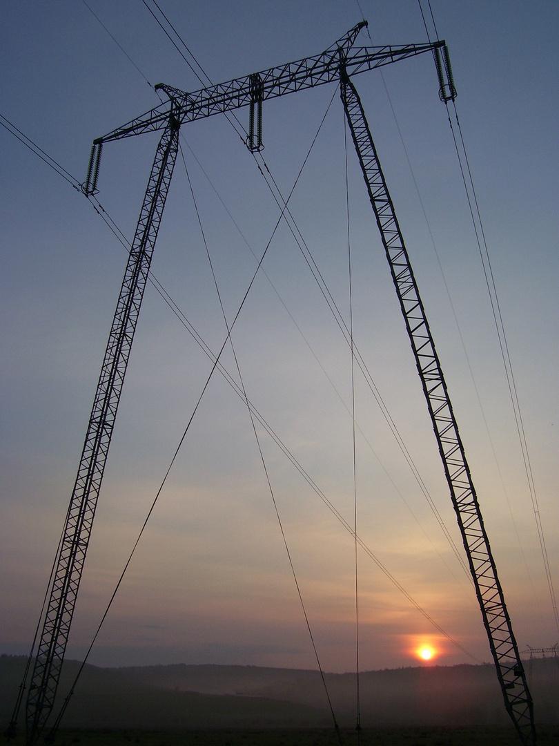 Sonnenaufgang auf der Hamlescher Hill