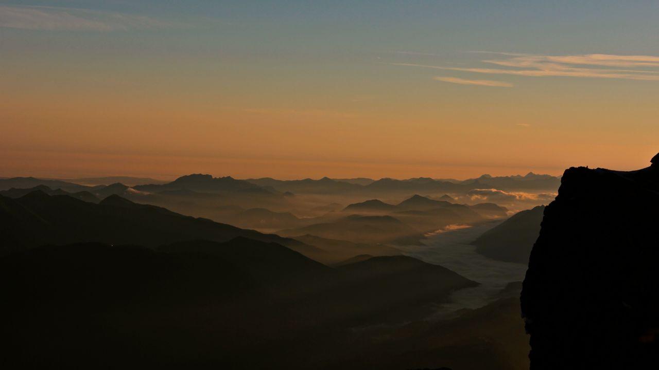 Sonnenaufgang auf der Zugspitze 3