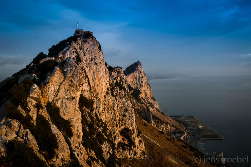 Sonnenaufgang auf Gibraltar