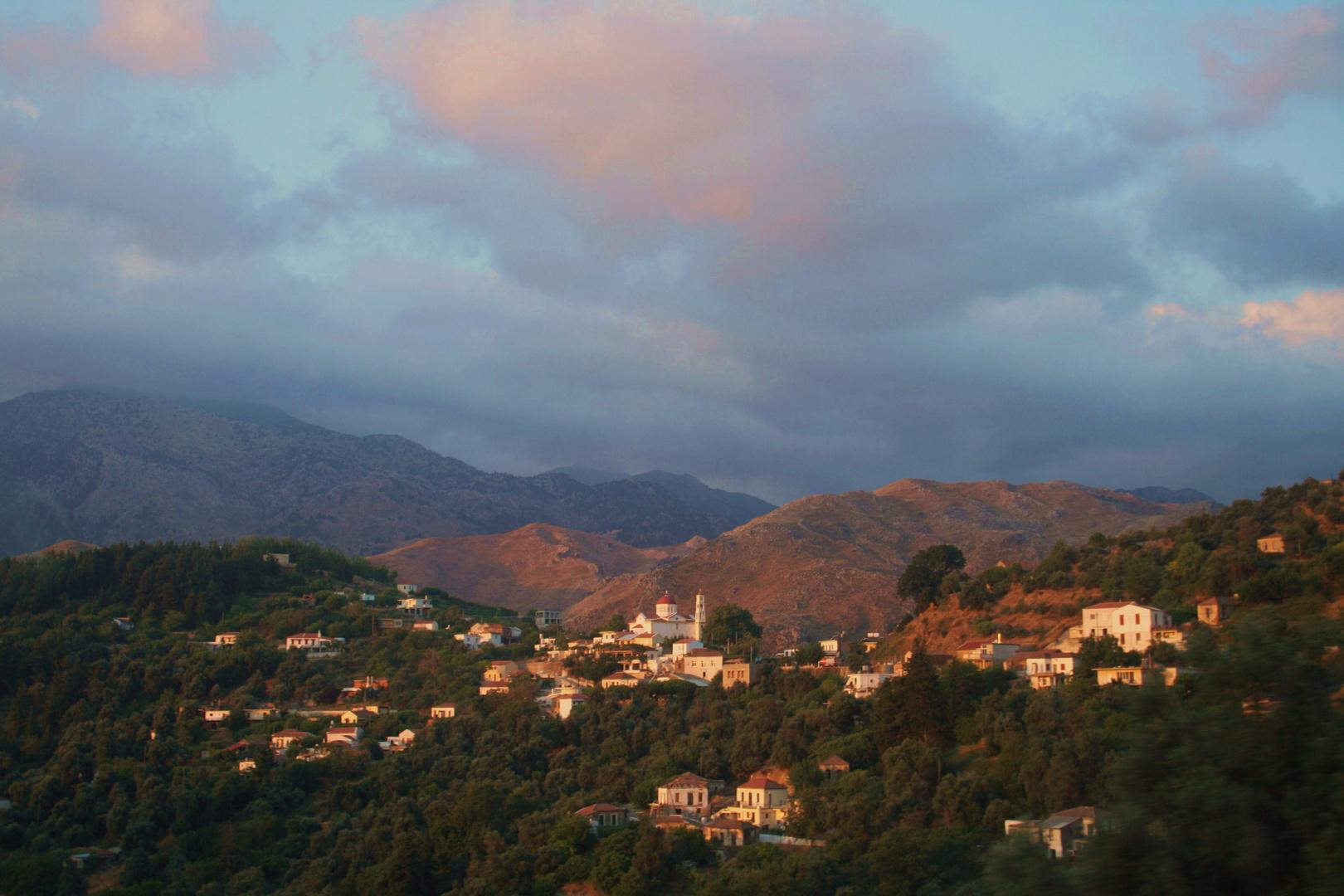 Sonnenaufgang auf Kreta...