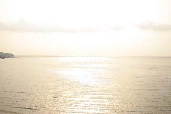 sonnenaufgang auf playa del ingles