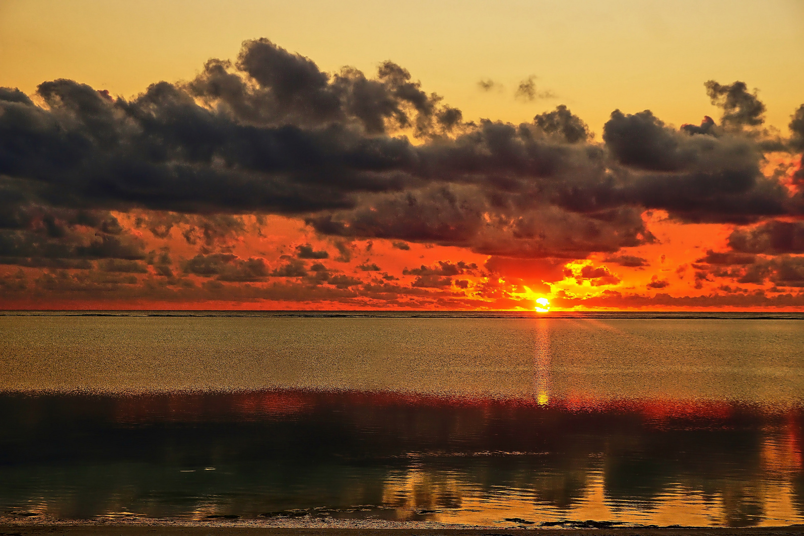 Sonnenaufgang auf Sansibar
