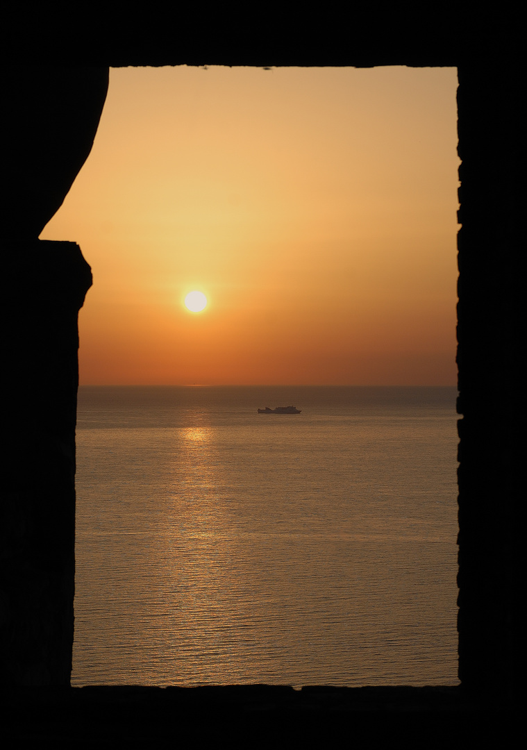 Sonnenaufgang auf Sizilien