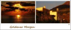 Sonnenaufgang auf Stromboli