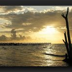 Sonnenaufgang auf Yucatan