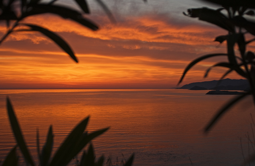 Sonnenaufgang bei Bali (Kreta)