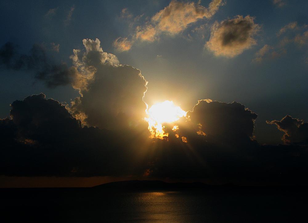 Sonnenaufgang bei Heraklion