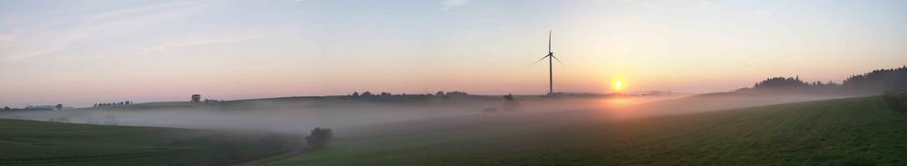 Sonnenaufgang bei Honhardt