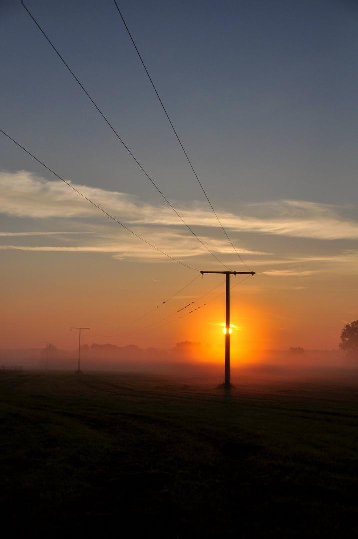 Sonnenaufgang bei Medbach