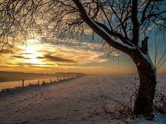 Sonnenaufgang bei Öttershagen