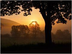 Sonnenaufgang bei Rüppershausen