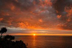 Sonnenaufgang bei Sirolo oder ich geb die Hoffnung nicht auf!!