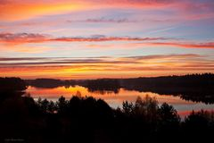 Sonnenaufgang bei Stendal