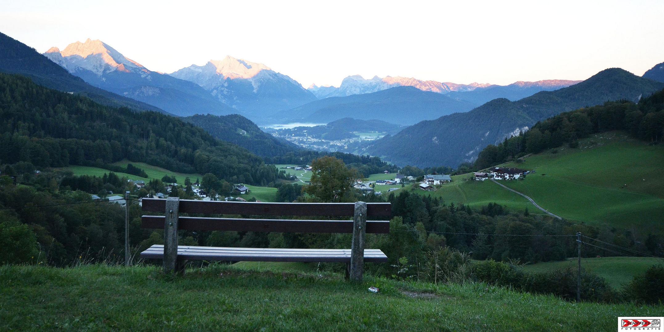 Sonnenaufgang - Berchtesgaden