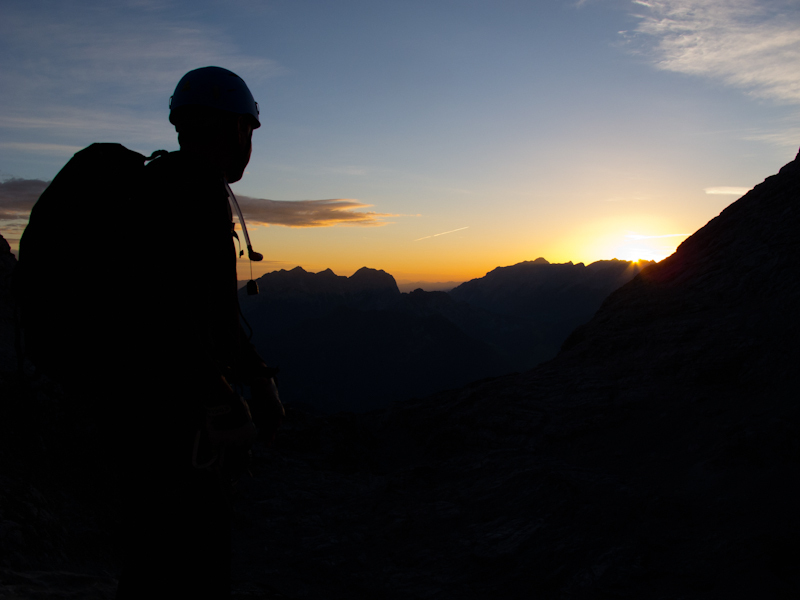...Sonnenaufgang...