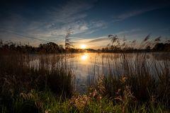 Sonnenaufgang  (der frühe Vogel ....)