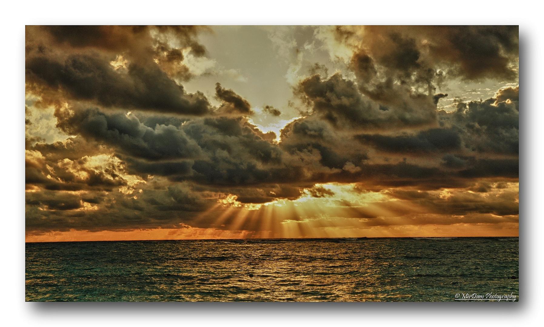 Sonnenaufgang Dominican Republic