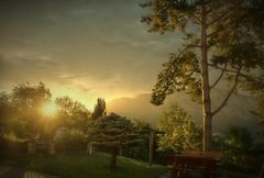 Sonnenaufgang..