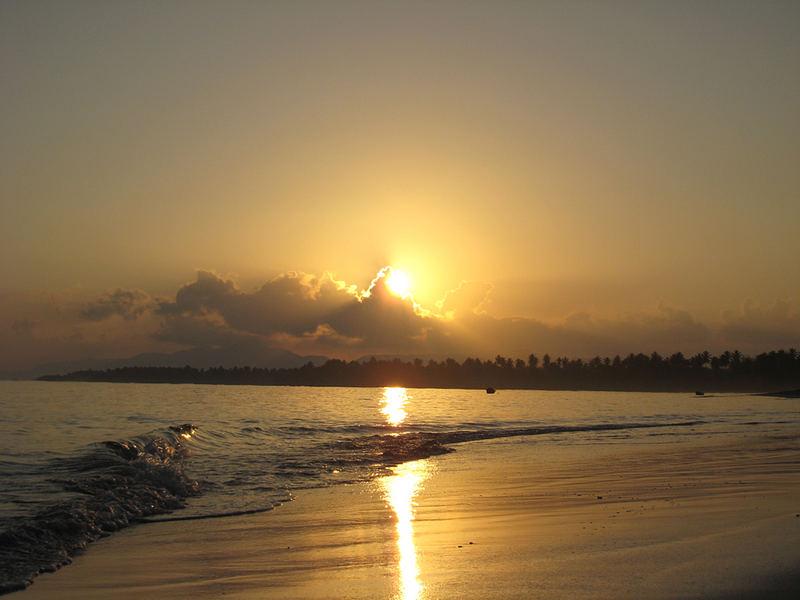 Sonnenaufgang El Portillo