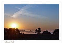 Sonnenaufgang ... Faha ...