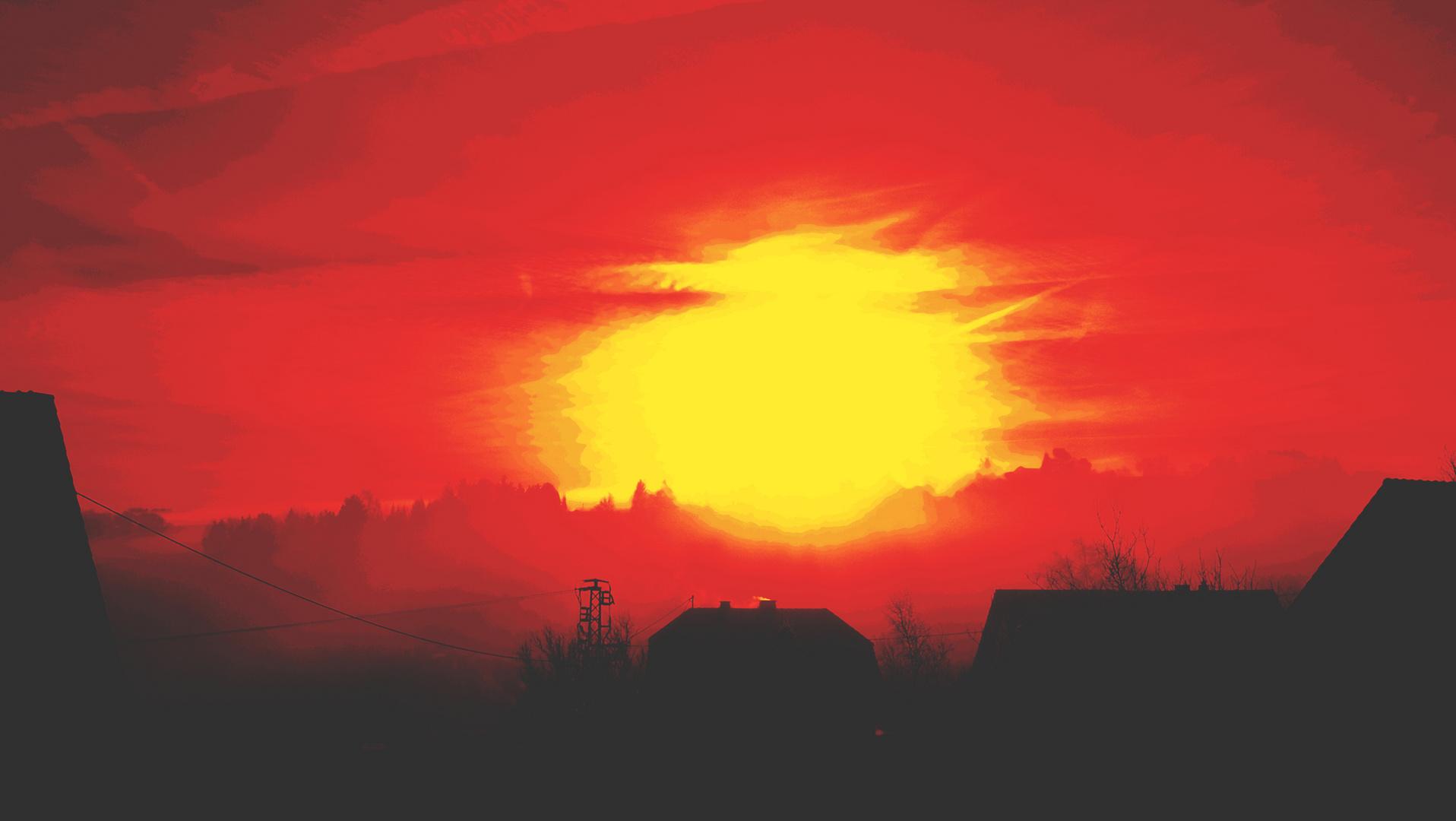 Sonnenaufgang - Fantasie!